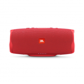 JBL Charge 4 Portable Bluetooth Speaker - Red Front View