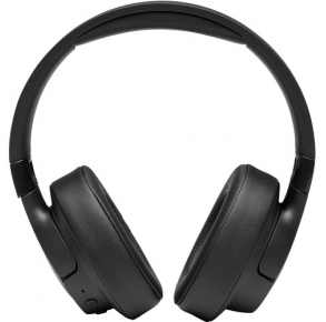 JBL Tune 750BTNC Noise-Cancelling Wireless Over-Ear Headphones - Black Front View