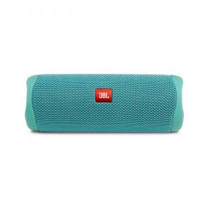 JBL Flip 5 Portable Bluetooth Speaker - Teal Front View