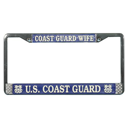 CG Wife License Plate Frame