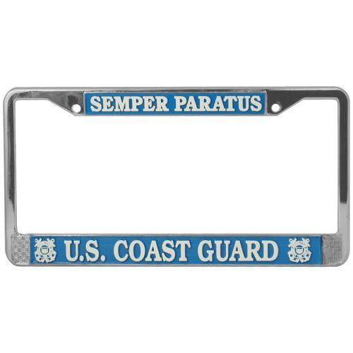 Semper Paratus License Plate Frame